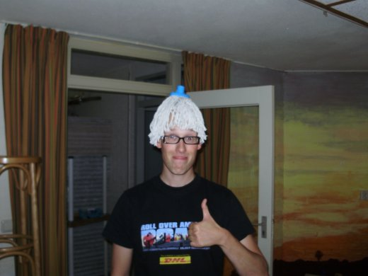 DCT 2012 - Mop on my head