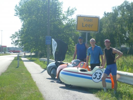 Euro Tour 2013 - Dag 13 (we made it to Leer)