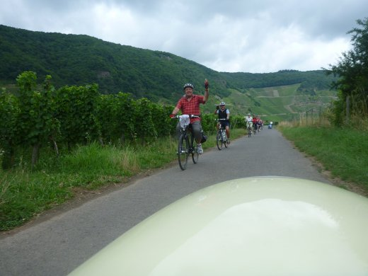 Euro Tour 2013 - Day 9 (other cyclists on the Moselle)