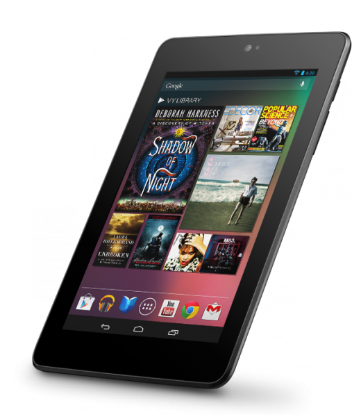 Google Nexus 7 (product photo)