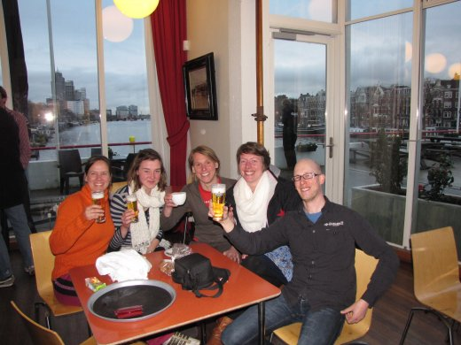 Head of the River Amstel (2012) - cheers